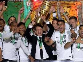 Kovac won the cup with Frankfurt last season, he aims to do the same with Bayern this season. EFP