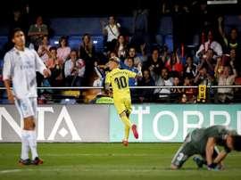 Castillejo's equaliser rounded off Villarreal's comeback. EFE