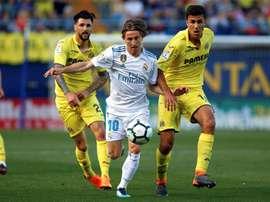 Soriano y otros compañeros podrían dejar el Villarreal. EFE