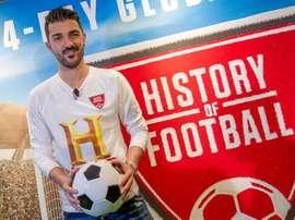 Villa celebró sus 400 goles con doblete y triunfo. EFE
