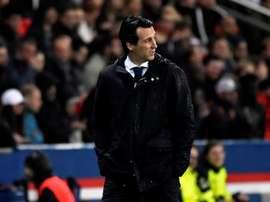 Emery se despidió con un empate del PSG. EFE