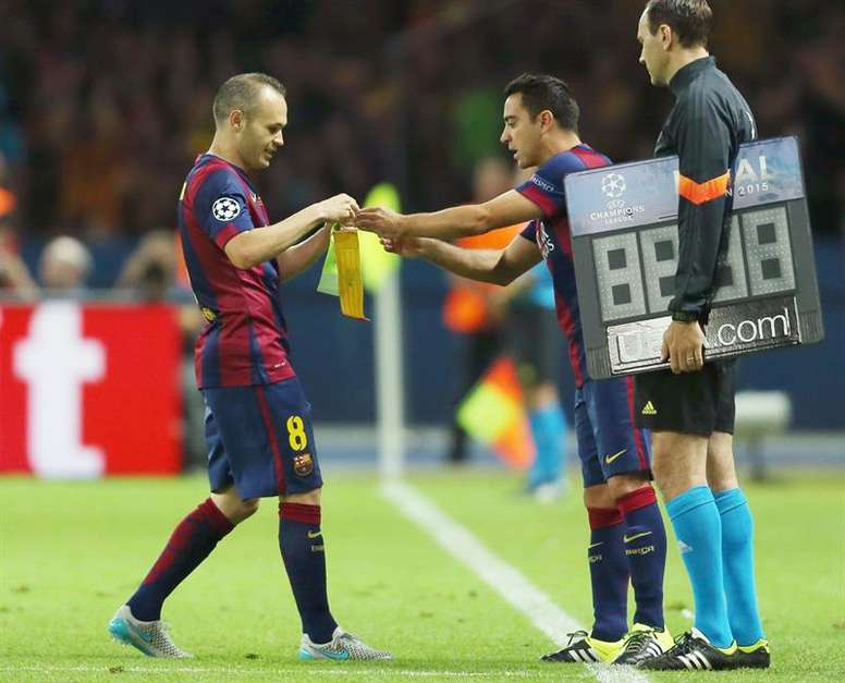 Modric se acordó de los dos cracks del Barcelona. EFE