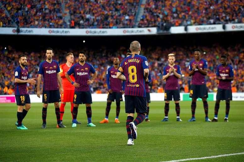 Les compos probables du match de la Rakuten Cup entre le Vissel Kobe et le Barça. EFE