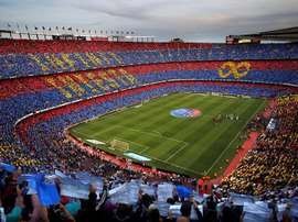 The Camp Nou will welcome Huesca for the first time in league history. EFE