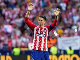 Fernando Torres de despede do Atlético com 2 gols em sua última partida. EFE