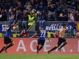 L'Inter décoche la dernière place pour la Champions. EFE