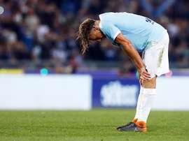 La Lazio tuvo que adelantar su encuentro. EFE