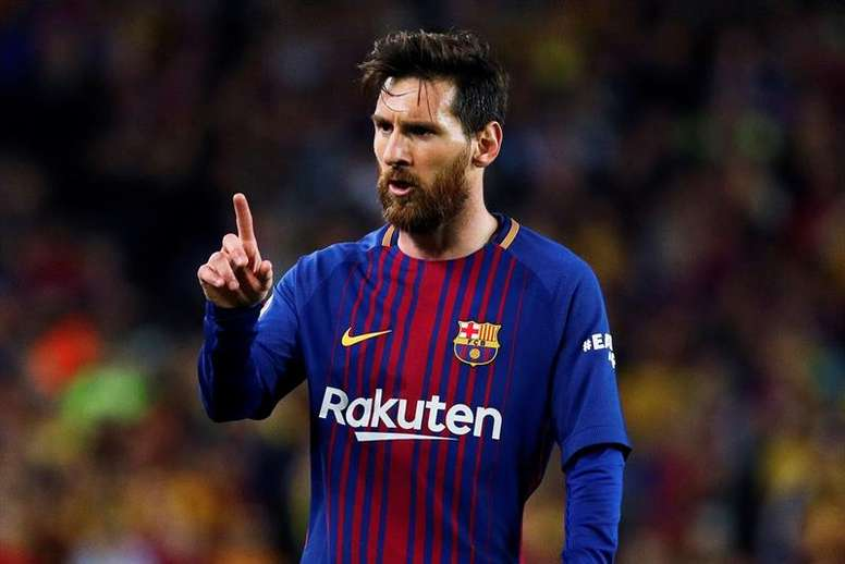 Messi passou por momentos difíceis. EFE