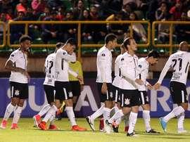Corinthians se llevó el triunfo. EFE/Archivo