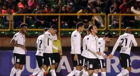 Corinthians no podrá contar aún con Sergio Díaz. EFE