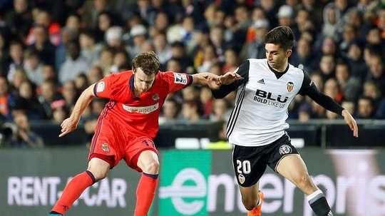 Jugó sus primeros minutos contra el Levante. EFE/Archivo