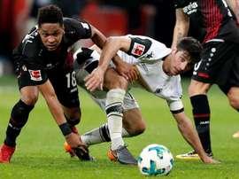 El Leverkusen no quiere dejar escapar a Wendell. EFE/Archivo