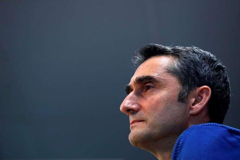 El Barcelona va en sintonía con Valverde. EFE