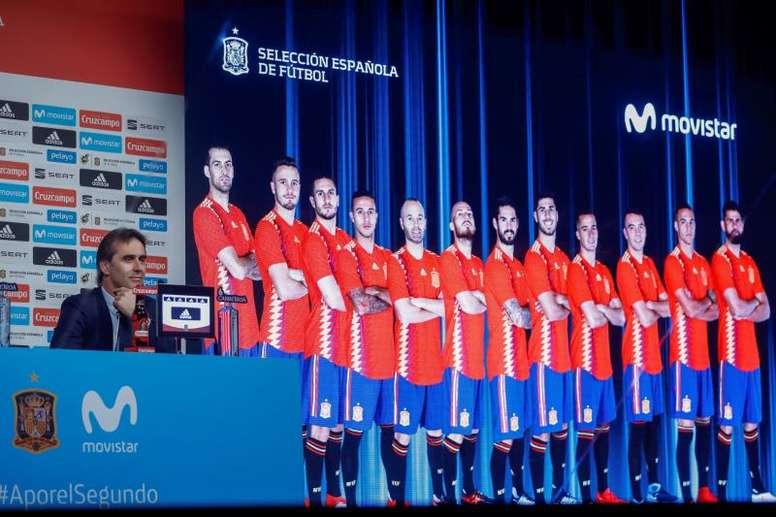 Hay ocho futbolistas que han rendido por encima del resto con Lopetegui al mando. EFE/Archivo
