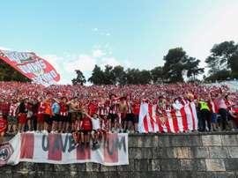 Le Desportivo das Aves ne pourra pas jouer l'Europe. EFE