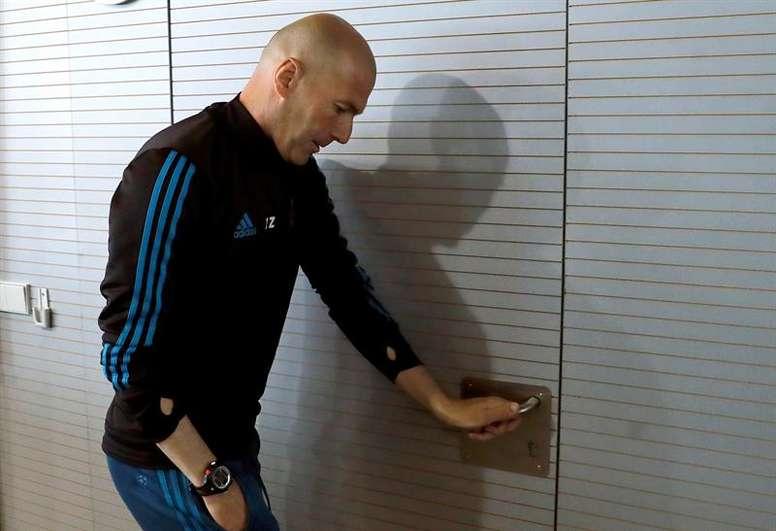 Messi reagiu à saída de 'Zizou'. EFE