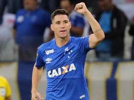 Cruzeiro anuncia o afastamento de Thiago Neves. EFE