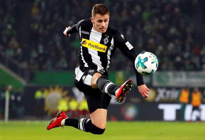 Thorgan intéresse Dortmund. EFE