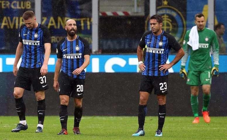 Borja Valero rechazó ofertas para continuar en el Inter. EFE