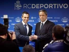 Carmelo del Pozo no será el director deportivo de la entidad. EFE