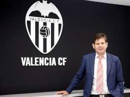 Valence vise un joueur de l'Étoile Rouge de Belgrade. EFE/Archive