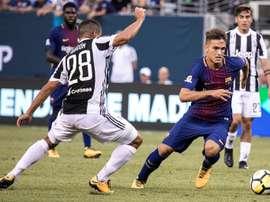 L'Italie veut accueillir Denis Suarez. EFE