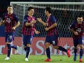 Victoria para el conjunto paraguayo en la Libertadores. EFE