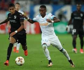 Raphinha, nuevo jugador del Sporting de Portugal. AFP