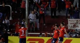 Independiente venció 4-0. EFE