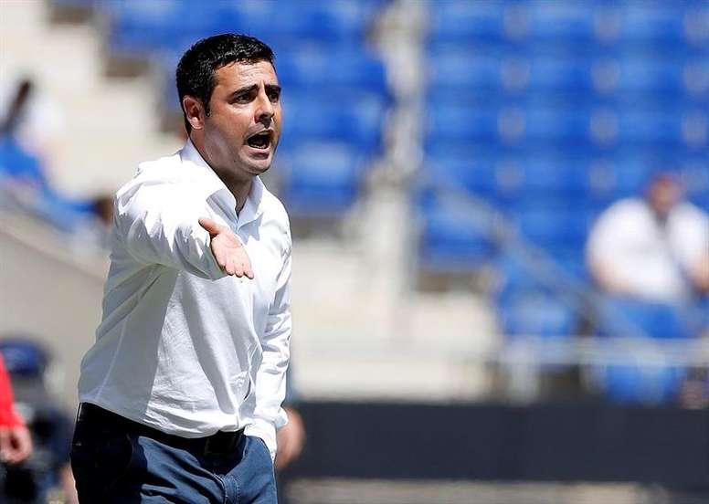 David Gallego ha devuelto al Espanyol a Segunda División B. EFE/Archivo