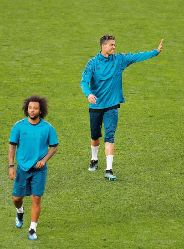 Marcelo contou como soube que Cristiano iria para a Juventus. EFE