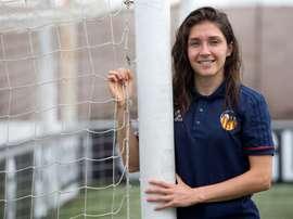 Natalia Gaitán destacó el crecimiento que está experimentando el fútbol femenino. EFE