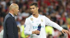 Zidane de regresso à Juve. EFE/EPA