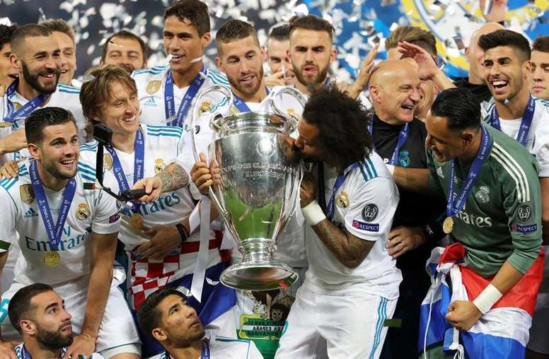 Real Madrid was formed 118 years ago. EFE