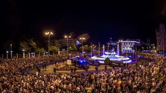 Madrid will not attend Cibeles. EFE