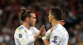 Bale confessou que o melhor jogador com quem jogou foi Modric e não Cristiano. EFE