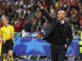 Este es el once que podría formar Zidane si llega al United. EFE