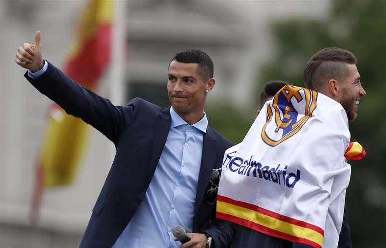 Cristiano, a punto de irse a la Juventus. EFE