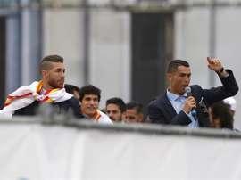 Ramos n'a pas invité Cristiano à son mariage. EFE