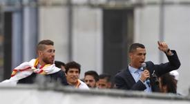Ramos no invitó a su boda a Cristiano. EFE