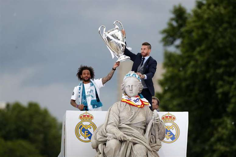 Marcelo et Sergio Ramos proches d'un record. EFE