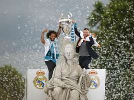 Madrid don't plan on celebrating the win at their usual fountain. EFE