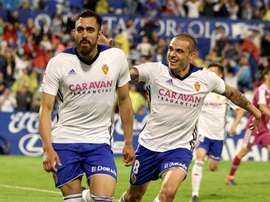 Zaragoza finished third in Spain's second tier. EFE