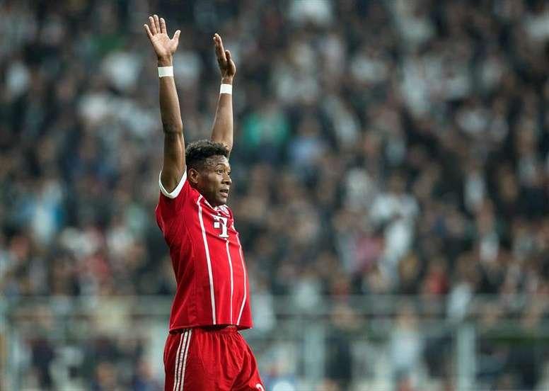 Le joueur du Bayern Munich. EFE/Archive
