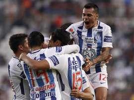 Pachuca superó a Santos. EFE