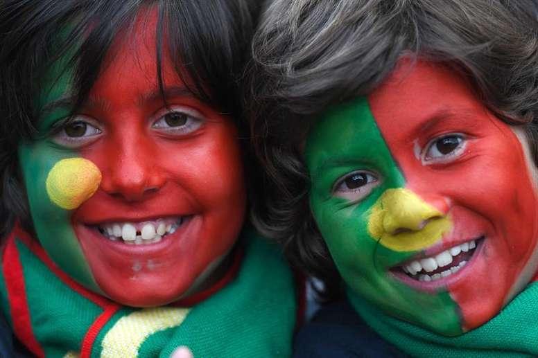 Portugal empató a dos con Túnez en su primer amistoso preparatorio del Mundial. EFE