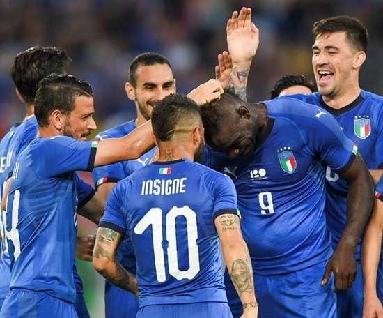 Balotelli voltou à 'Squadra Azzurra' e marcou. EFE