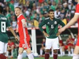 México ganó a Escocia en un mal partido. EFE