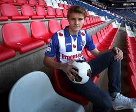 Odegaard pourrait passer une seconde saison avec Heerenveen. EFE