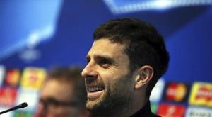 Thiago Motta entraînera le Genoa. EFE